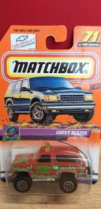 MATCHBOX ´´ CHEVY BLAZER ´´ 2000 #71