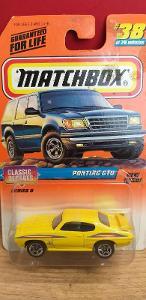 MATCHBOX 1998 ´´ PONTIAC GTO ´´ #38