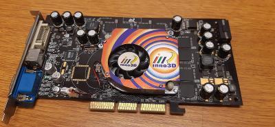 RETRO HW - Herní grafická karta Inno3D NV GeForce FX5900XT, 128MB, AGP