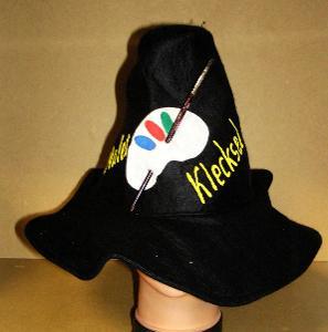 N1683 MALÍŘ - karnevalový klobouk