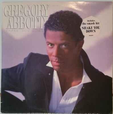 LP Gregory Abbott - Shake You Down, 1986 EX