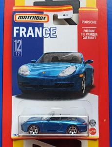 Porsche 911 Carrera Cabriolet France MB 12/12 Matchbox