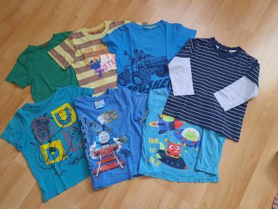 Chlapecká trička, vel. 104