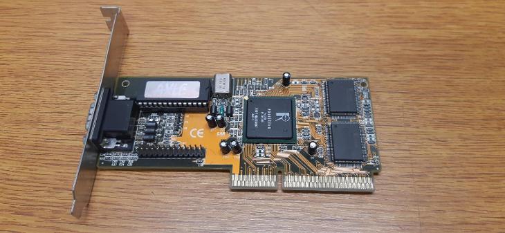 RETRO HW - Grafická karta AXLE Rendition Vérité V2200, 4MB, AGP - Historické počítače