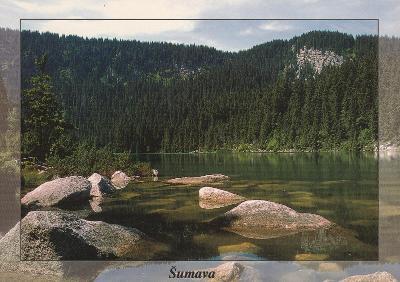 Šumava - Plešné jezero, VF, prošlá