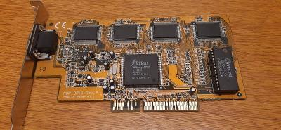 RETRO HW - Grafická karta Trident AGP-9750 (čip 3DImage9750), 4MB, AGP