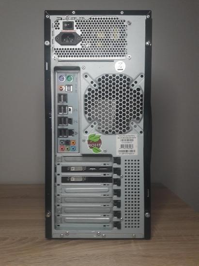 Starší herní PC - AMD 4jádro, Radeon HD5770, 8 GB RAM - Stolní počítače