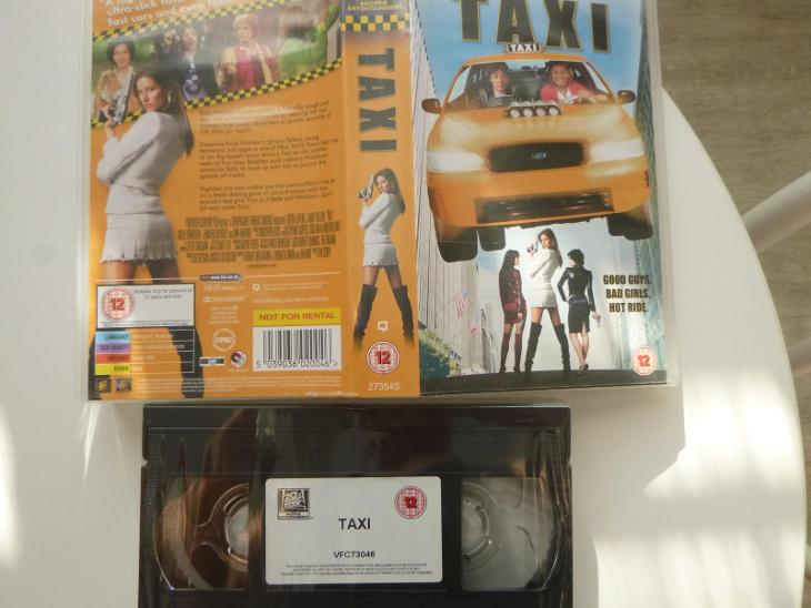 TAXI / Queen Latifah Jimmy Fallon Gisele Bundchen  UK původní znění - Film
