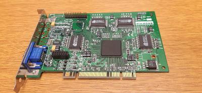 RETRO HW - Grafická karta Diamond Viper V330 (NVIDIA Riva128), 4MB,PCI