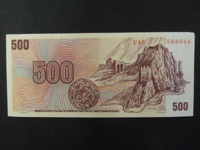 500 Kčs 1973 série U 45 stav -N-