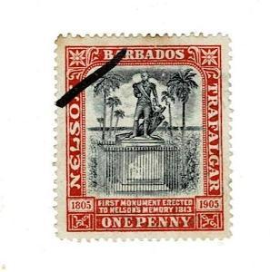 Britské kolonie - Barbados 1906 - Mi 71- Nr10.