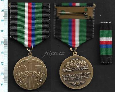 Vyznamenání Vojenské tábory nucených prací 1949/1954 PTP /FA-VZ.149