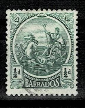 Britské kolonie - Barbados 1921 - Mi 123 (*)- Nr10.