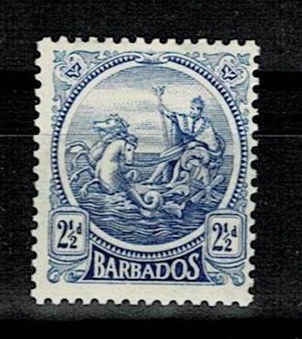 Britské kolonie - Barbados 1921 - Mi 126 * - Nr10.