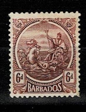 Britské kolonie - Barbados 1921 - Mi 129 * - Nr10.