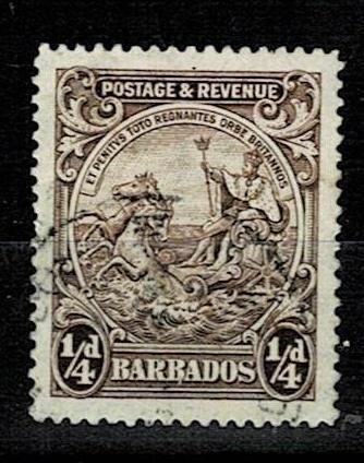 Britské kolonie - Barbados 1925 - Mi 134A - Nr10.