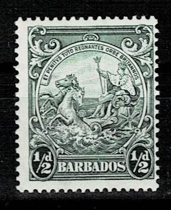 Britské kolonie - Barbados 1938 - Mi 155A(*) - Nr10.