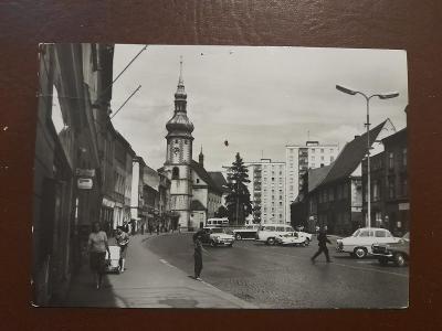 Pohled SOKOLOV náměstí 9. Května