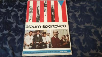 Retro časopis Album sportovců 1948 - 1968.