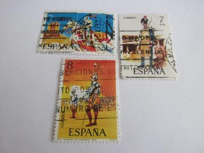 Prodávám známky  Španělsko 1975, Ozbrojené síly - Uniformy