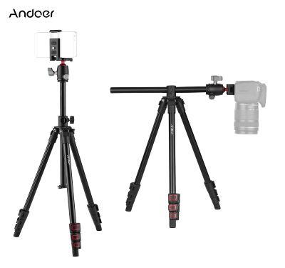 Andoer Q160H stativ tripod 154 cm 3v1: foto + mobil + GoPro, BT spoušť