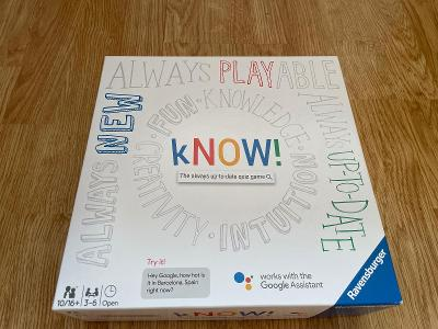 Ravensburger Kvízová hra s Asistentem Google pro 2–6 hráčů