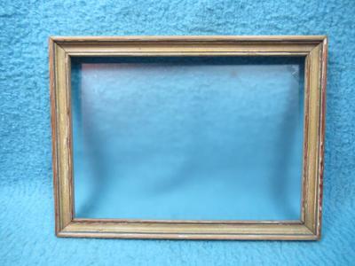 Starý obrazový rám se sklem