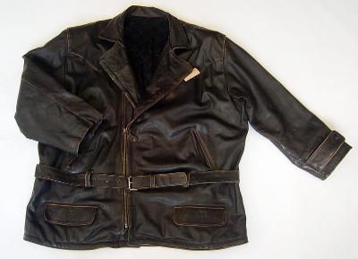 Kožená bunda- drobné oděrky