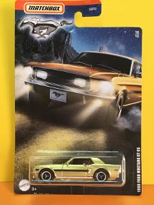 1968 Ford Mustang GT CS - Matchbox Ford Mustang Series 10/12 (E6-m2)