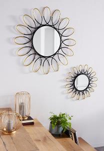Dekorativní nástěnné zrcadlo (82747727) B199
