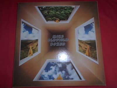 MIKE OLDFIELD - Boxed 4LP, Příloha, první 4 řad. alba-LP NEHRANÉ 100%!
