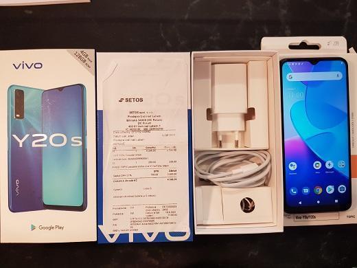 VIVO Y20 S BLACK, ZÁRUKA NOVÝ - Mobilní telefony