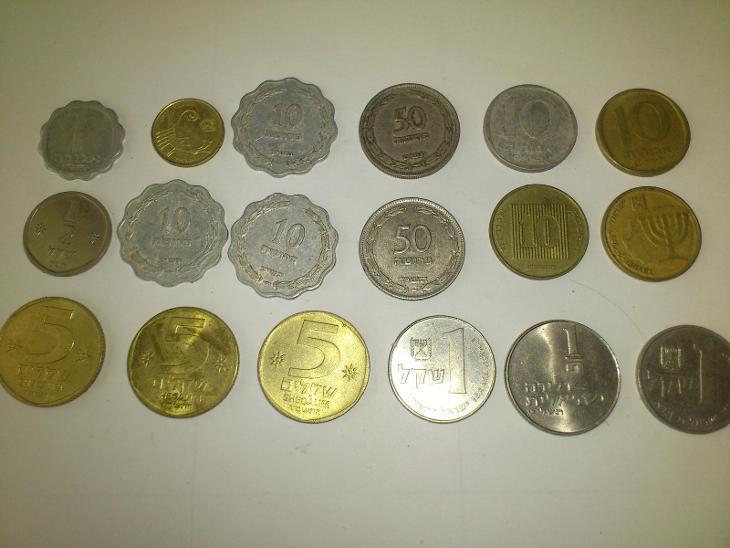 IZRAEL-Konvolut 33ks - Numismatika