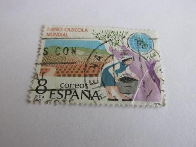 Prodávám známky Španělsko 1979,  Zemědělství-Pěstování oliv