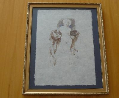 **********  František Kupka  -  Originální Litografie  **********