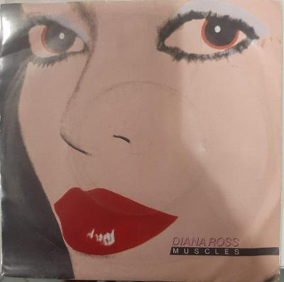 """DIANA ROSS - MUSCLES 7""""SP"""