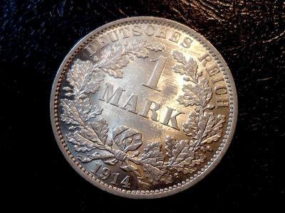 1 Marka 1914 A TOP Stav  UNC