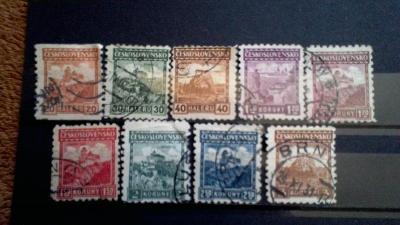 známky československo