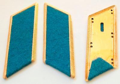 Výložky.  Armáda. Rusko. SSSR. modrý. nové. originál.