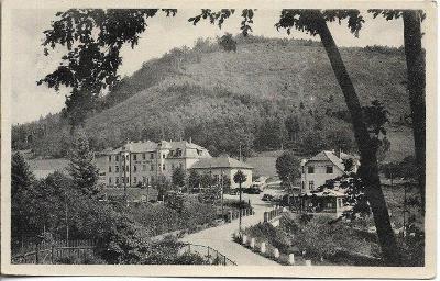 Přehrada Bystřička - Hotel Klenov , okr. Vsetín