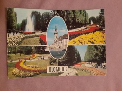 Pohlednice OLOMOUC,prošlé poštou