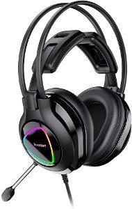 Herní sluchátka s mikrofonem Tronsmart Alpha, černá