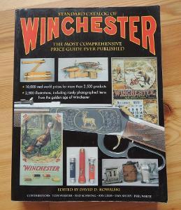 Kniha: Winchester - přes 2500 položek: zbraně náboje, nože; 750 str.!