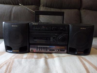 kazetový magnetofon SONY CFS 1055L