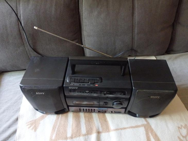 kazetový magnetofon SONY CFS 1055L - TV, audio, video