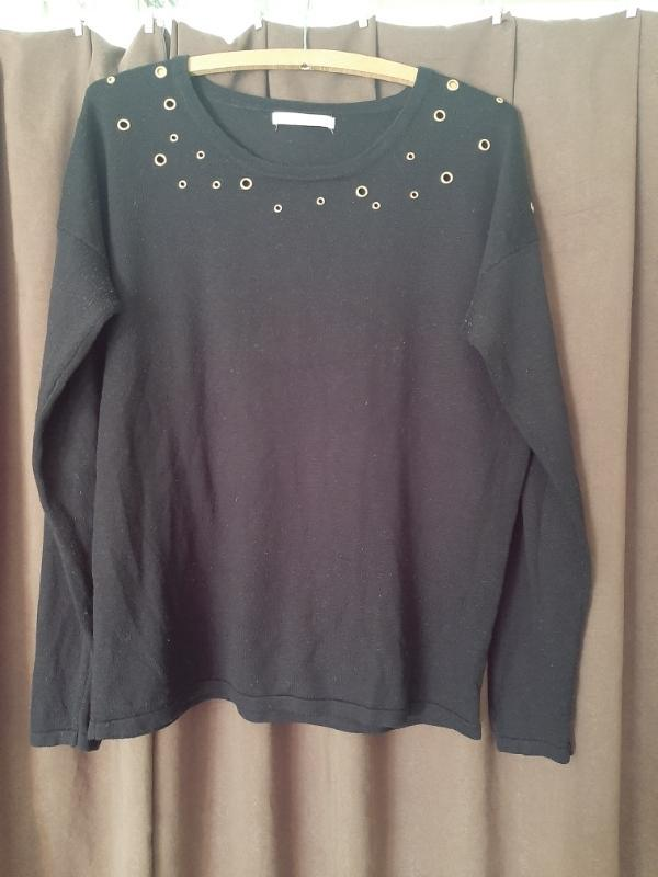 Černý svetr zn George vel. 44 - Dámské oblečení