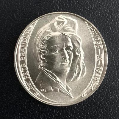🌶 Stříbrná mince 100 Kčs Petr Brandl 150. výročí úmrtí 1985
