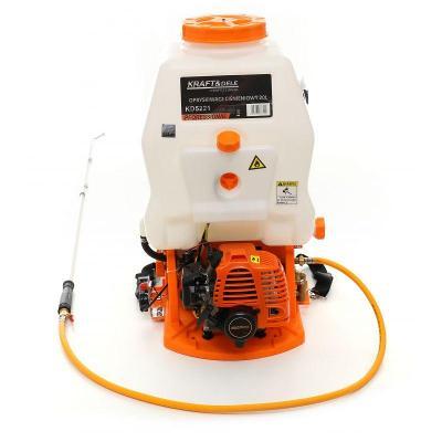 Motorový tlakový postřikovač zádový zahradní 20L rozprašovač KD5221