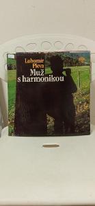 LP / gramofonová Deska / vinyl - Lubomír Pleva Muž s harmonikou