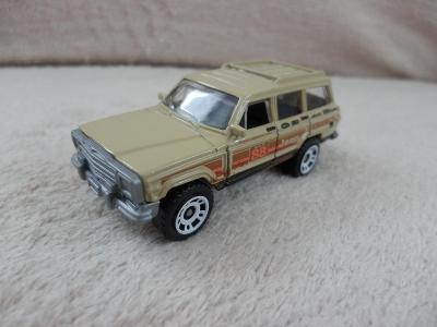 Jeep Wagoneer Matchbox - NOVÉ